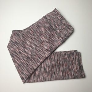 RBX printed fitness capri leggings sz M